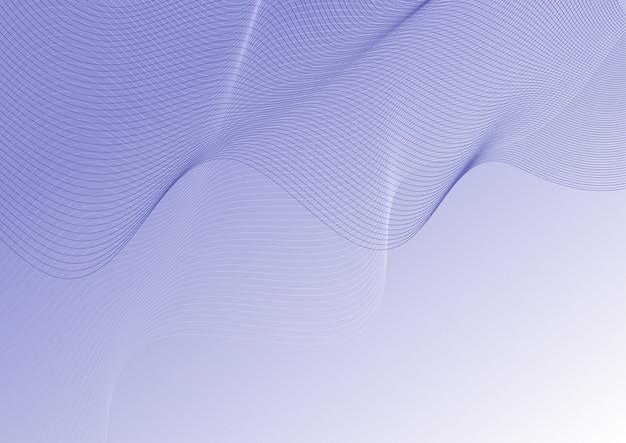 Абстрактный фон контурных линий