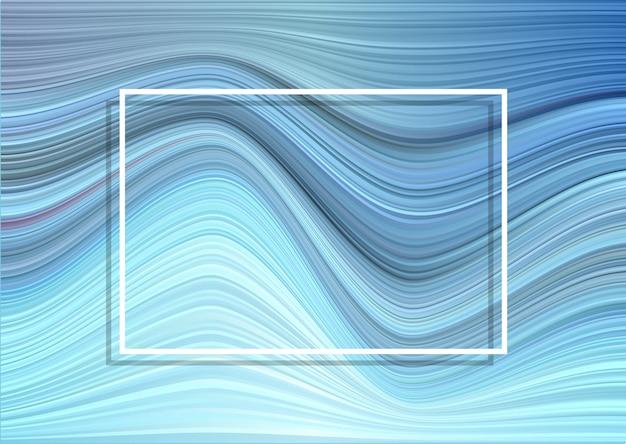Искаженные полосы фон с белой рамкой