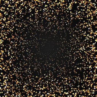 Фон золотых звезд