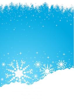 Снежный фон
