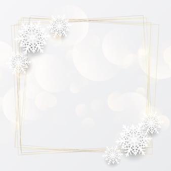 エレガントなクリスマス背景