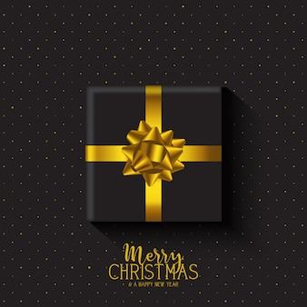 Рождественский подарок фон