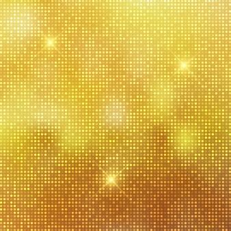キラキラのゴールドの背景