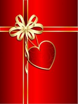 Подарок на валентинку