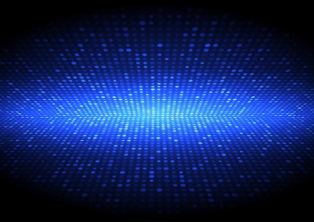 Перспектива полутоновых точек техно дизайн