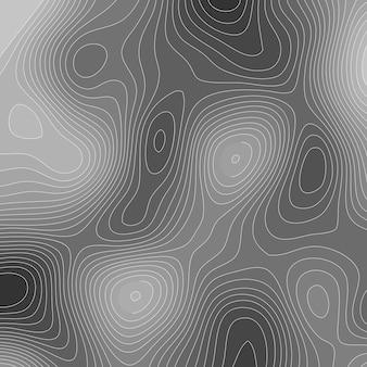 Абстрактный фон с топографией в стиле дизайна