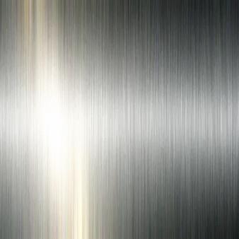 ブラッシュド金属の背景