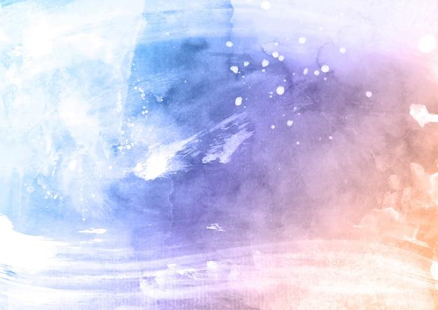 パステルカラーの詳細な水彩テクスチャ背景