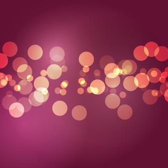 Абстрактные огни боке