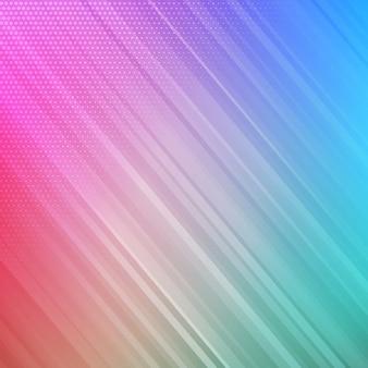カラフルな縞模様の背景