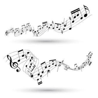 Абстрактный музыкальный фон