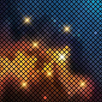 Абстрактный фон с мозаикой