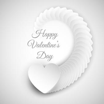 День святого валентина фон с сердцем дизайн