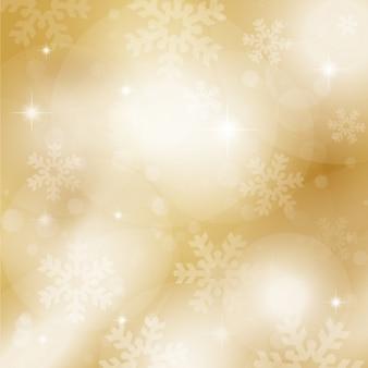 オークルの雪の背景