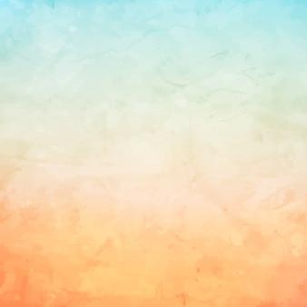 パステルカラーを使用したグランジ水彩の背景