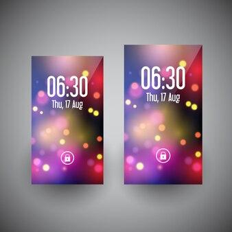 Дизайн обоев для смартфонов