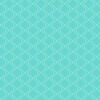 青色の装飾パターンの背景