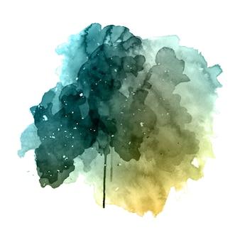 グランジ水彩の背景