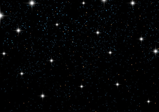 星空の夜空