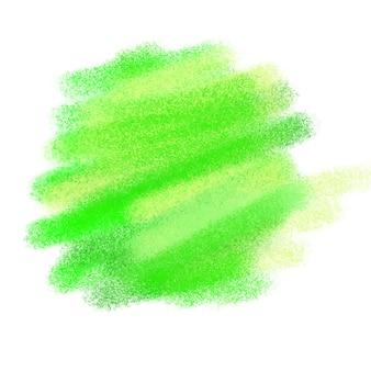 緑の水彩の質感
