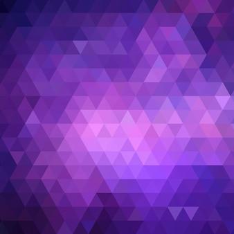 紫色の低いポリ背景