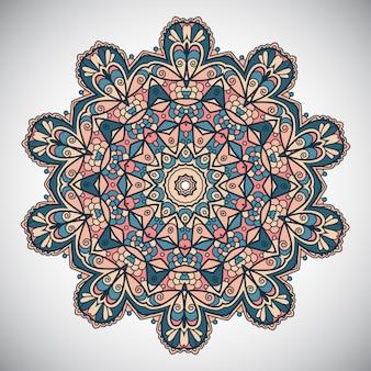 装飾的な曼荼羅のデザイン