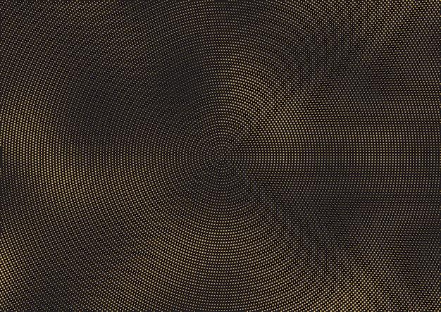抽象的なハーフトーンドットの背景