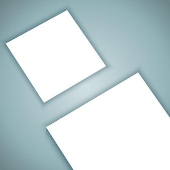 白紙製品のモックアップの背景
