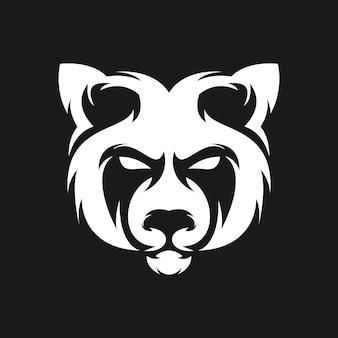 パンダのロゴデザイン