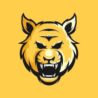 タイガーのロゴデザイン