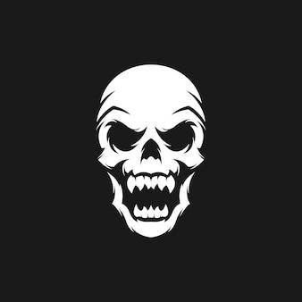 頭蓋骨のロゴ
