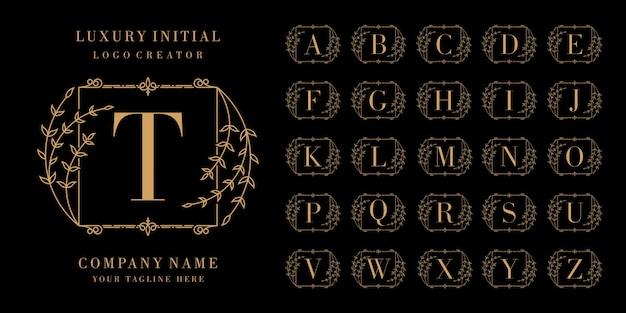 Монограмма или буквица декоративный логотип коллекции