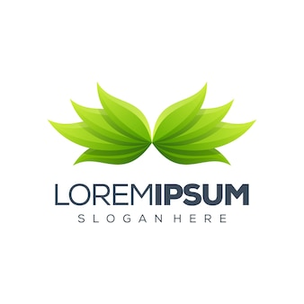 Премиум лист логотип