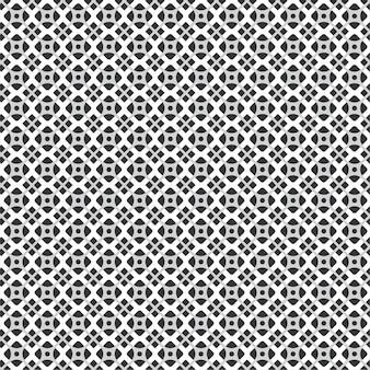 黒と白の色の背景のモダンな幾何学模様のタイルテクスチャ