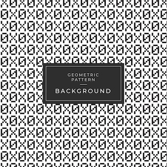 幾何学的な白黒パターン番号