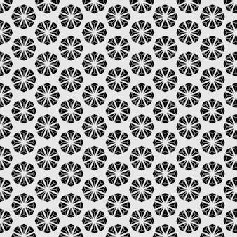 パターンのシームレスな日本スタイルの花