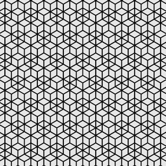 パターンのシームレスな抽象的なモダンなライン