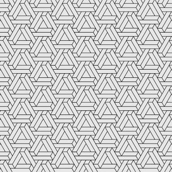 シームレスなペンローズの三角形のパターン
