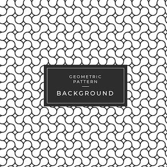 抽象的な幾何学的な白黒パターンの背景