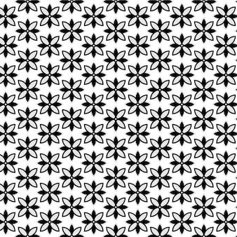 美しくてユニークなモダンな幾何学的なシームレスパターン