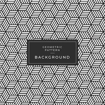 幾何学的な白黒パターン