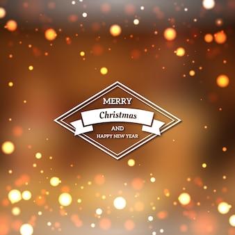 Размытое рождественское бэкграунд