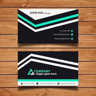 ストライプのビジネスカード