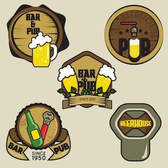 ビールのロゴコレクション