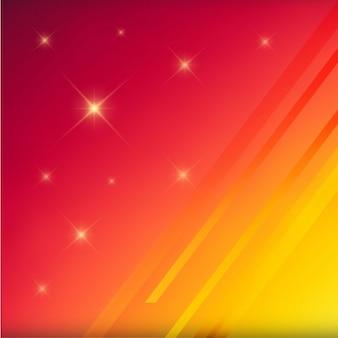 黄色と赤のぼやけた背景