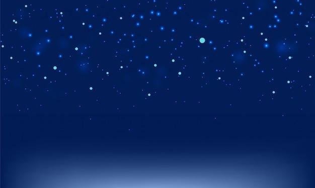 抽象的なダークブルーの背景をぼかした写真