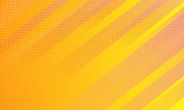 モダンな黄色の線の背景