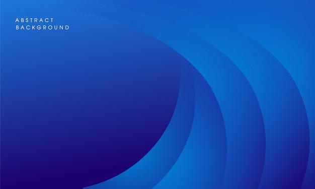 モダンな抽象的なブルーの背景デザイン