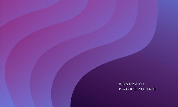 波の抽象的なベクトルの背景