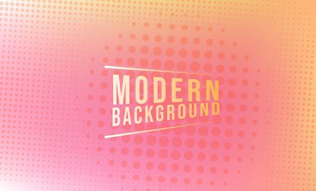 モダンな抽象ピンクのテーマの背景デザイン